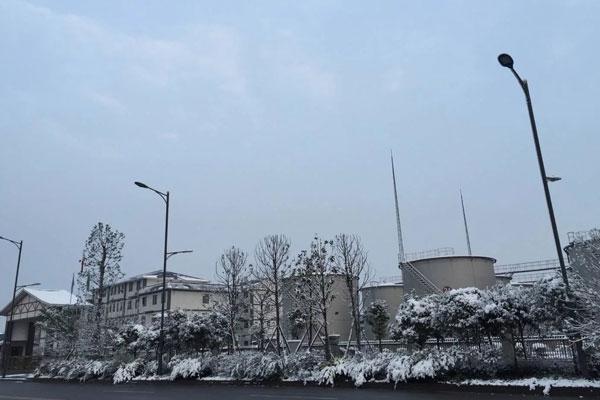 2016年1月底3日厂区雪景