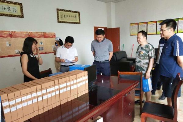 2018年7月泸县县委书记肖刚一行视察指导