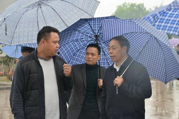 泸州市委书记蒋辅义、市长刘强及各市州领导一行